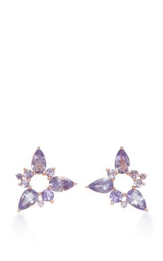 Medium fernando jorge blue electric spark stud earrings 2