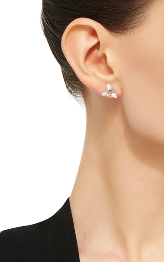 Electric Spark Stud Earrings by FERNANDO JORGE Now Available on Moda Operandi