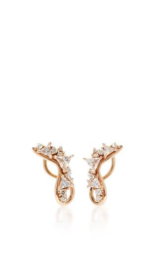 Fusion Lobe Earrings by FERNANDO JORGE Now Available on Moda Operandi
