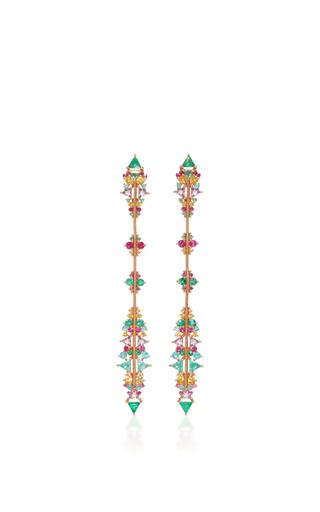 Medium fernando jorge multi fusion arrow earrings