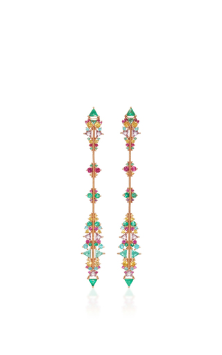 Medium fernando jorge multi fusion arrow earrings