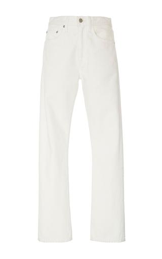 Medium brock white painter s white wright light selvage jeans
