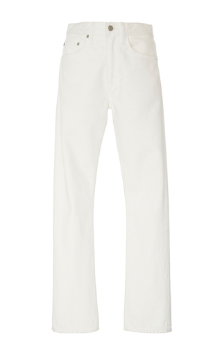 Medium brock white painter s white wright light selvage jeans
