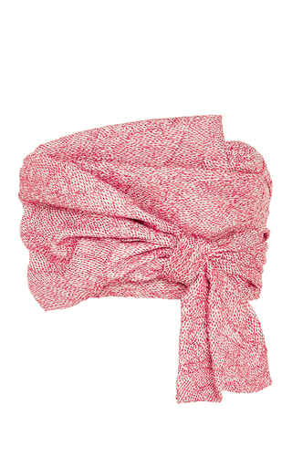 Medium adeam red wrap bustier top
