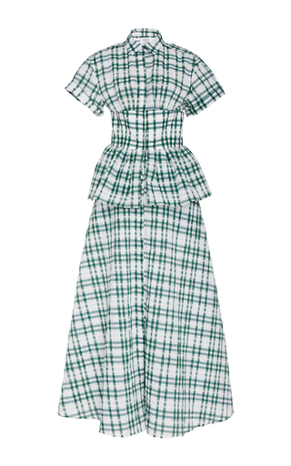 Medium rosie assoulin green boogie woogie bugle boy dress