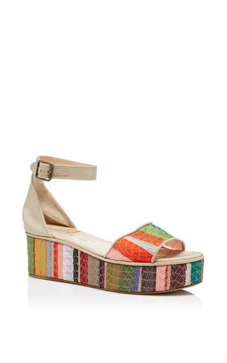 Medium rosie assoulin multi bergen flatform