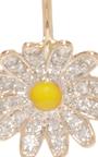 Daisy Diamond Drop Earrings by ALISON LOU Now Available on Moda Operandi