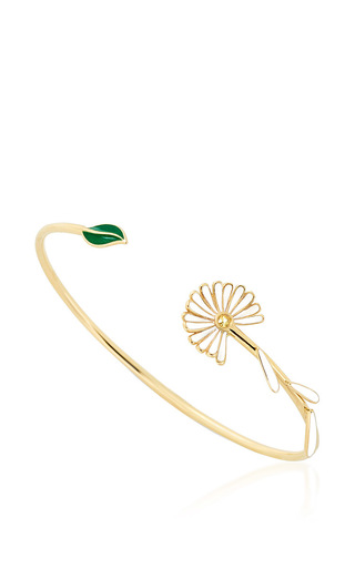 Falling Petals Cuff by ALISON LOU Now Available on Moda Operandi