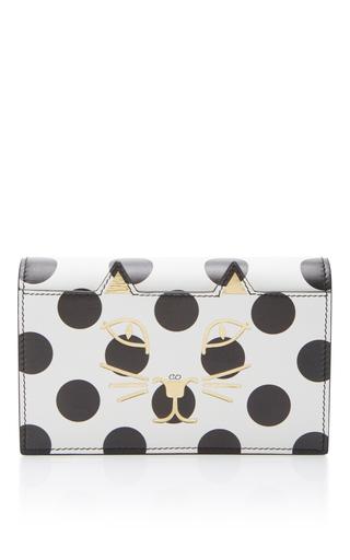 Medium charlotte olympia white feline purse