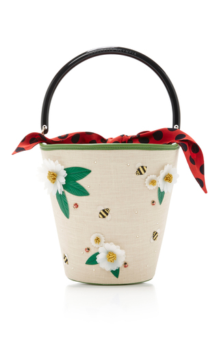 Medium charlotte olympia multi picnic bucket bag