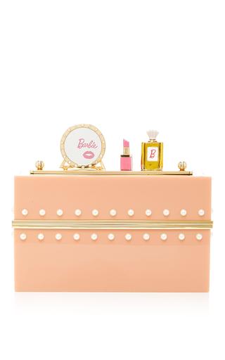 Medium charlotte olympia pink barbie world clutch