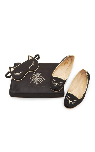 Medium charlotte olympia black cat nap set 2