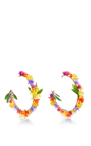 Medium mercedes salazar multi fiesta flower earrings 7