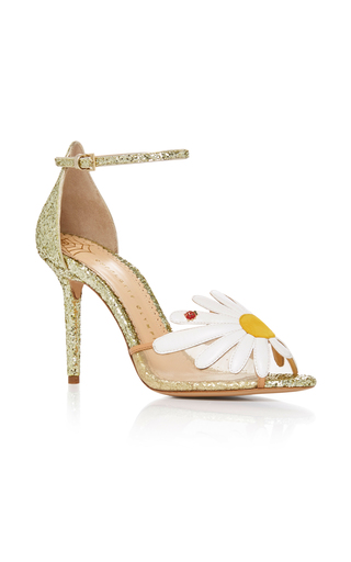 Medium charlotte olympia multi margherite daisy heel