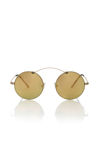 Medium spektre gold met ro gold sunglasses