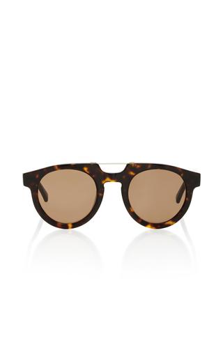 Medium spektre brown doppio ponte havana dark sunglasses