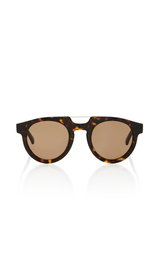 Medium spektre brown doppio ponte havana dark sunglasses