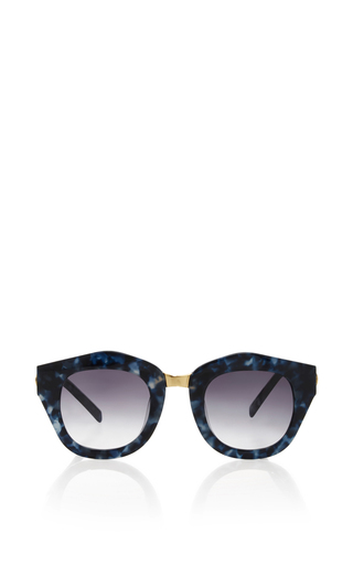 Medium spektre blue mon amour denim sunglasses