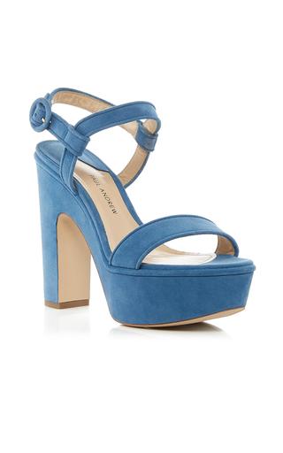 Medium paul andrew blue stanton platform sandal