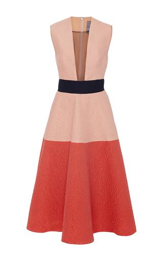 Medium lela rose multi sleeveless color block dress