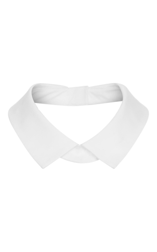 Medium lela rose white detachable collar
