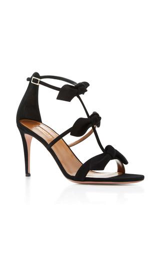 Medium aquazzura black st tropez sandal
