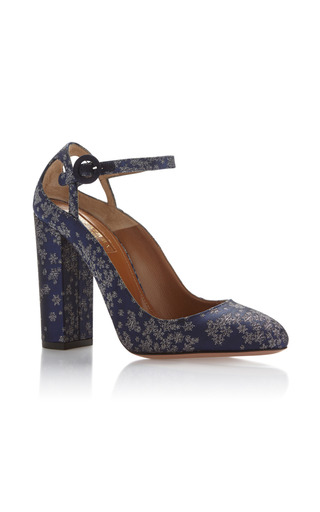 Medium aquazzura navy sweet thing pump