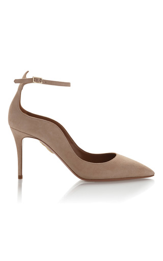 Medium aquazzura nude dolce vita pump 2