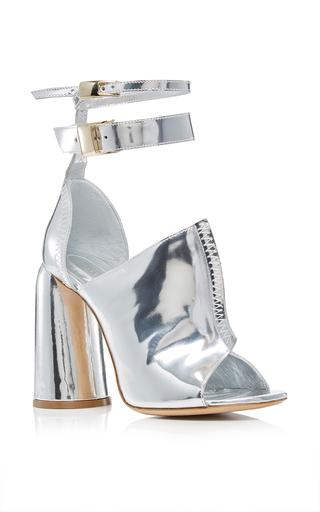 Medium ellery silver aztec heel 2