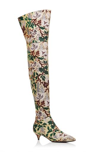 Medium philosophy di lorenzo serafini floral floral jacquard tall boot
