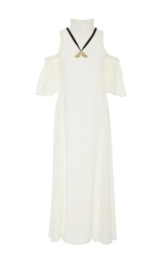Medium ellery ivory deity flared dress