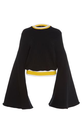 Medium ellery black immortal flare sleeve sweater