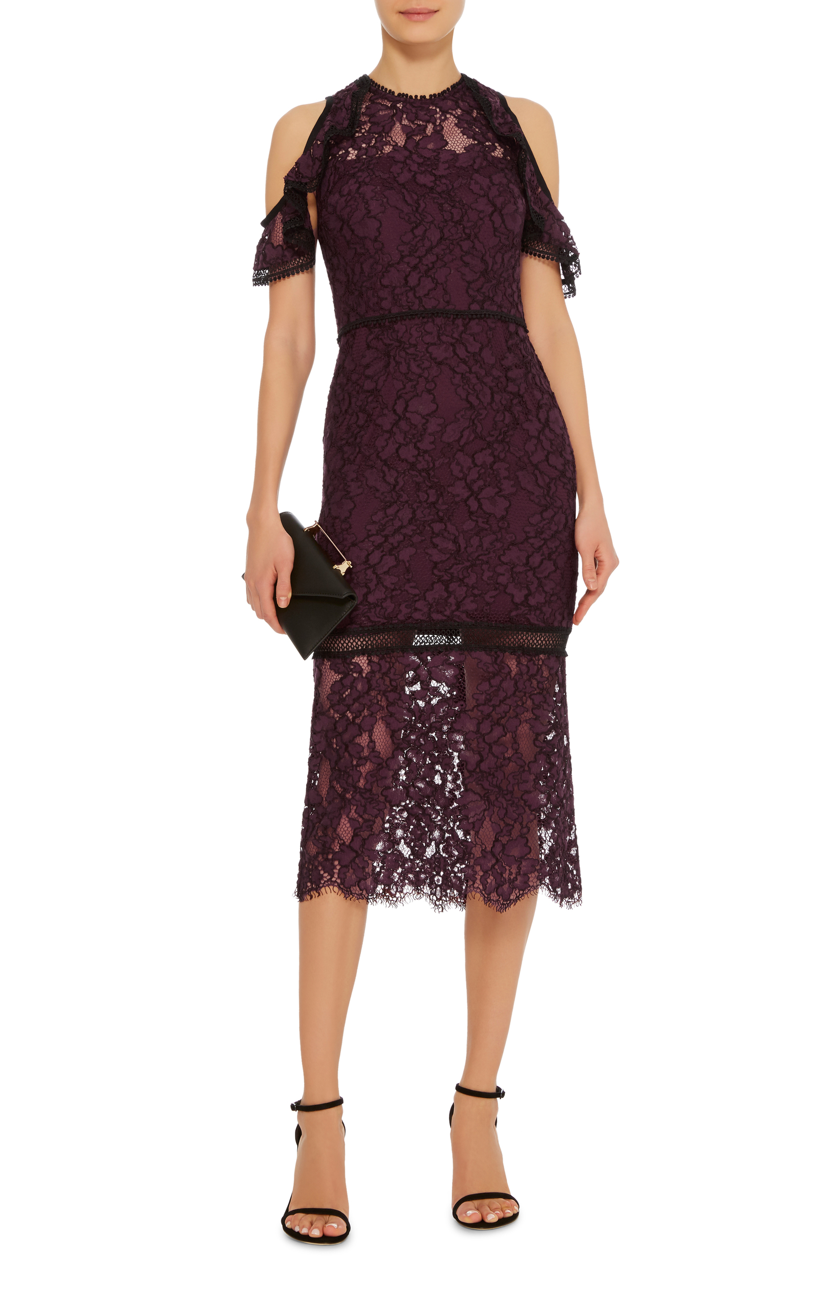Evie Cold Shoulder Lace Dress By Alexis Moda Operandi