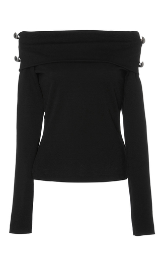 Medium alexis black hannah off the shoulder top