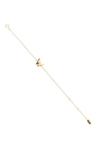 Medium efva attling gold little miss butterfly bracelet