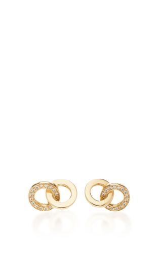 Medium efva attling gold you me earrings