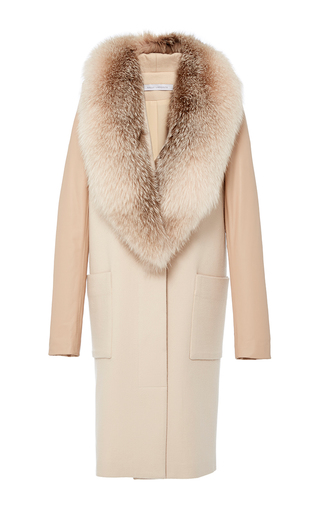 Medium sally lapointe nude fox fur coat