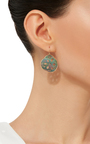 18 K Gold Small Locust Root Earrings by ANNETTE FERDINANDSEN Now Available on Moda Operandi