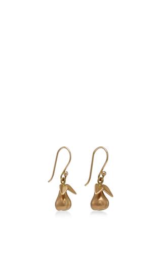 18 K Gold Large Honesty Earrings by ANNETTE FERDINANDSEN Now Available on Moda Operandi