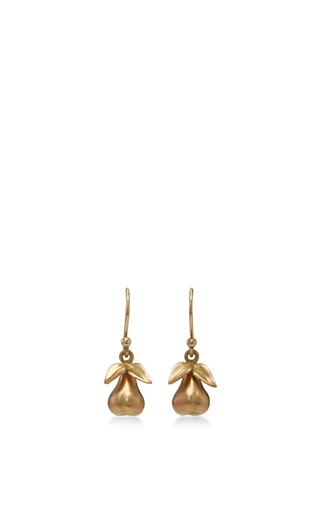 Medium annette ferdinandsen gold 18k gold large honesty earrings
