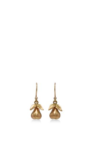 Medium annette ferdinandsen gold 18k gold large honesty earrings