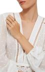 18 K Gold Ruby Stacking Ring by ANNETTE FERDINANDSEN Now Available on Moda Operandi