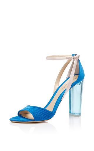 Medium monique lhuillier blue sapphire ava sandal