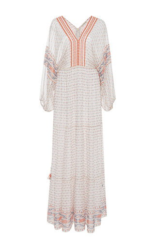Medium ulla johnson multi madhi peasant maxi dress