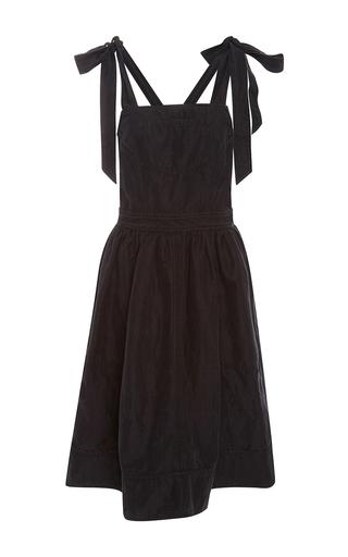 Medium ulla johnson black madi overall dress