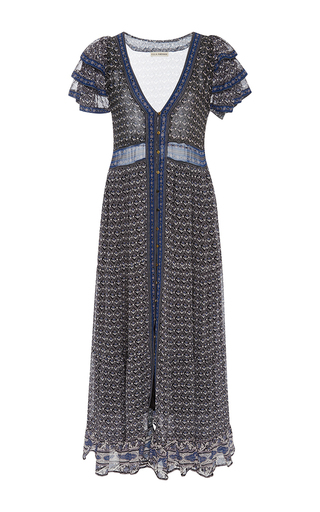 Medium ulla johnson multi ambra floral maxi dress