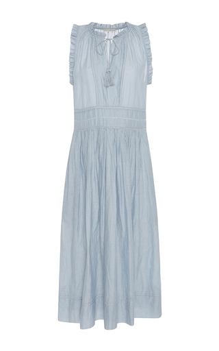 Medium ulla johnson stripe virginie midi dress