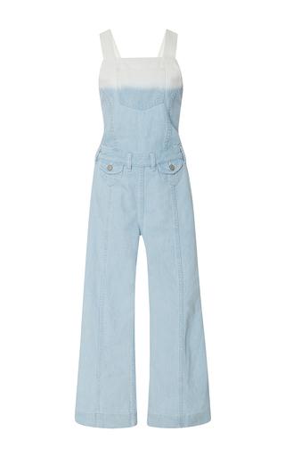 Medium ulla johnson multi claude ombre overall jumpsuit