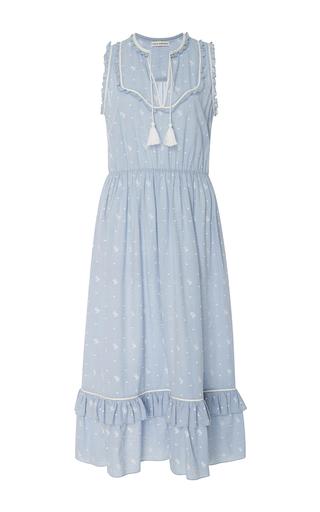 Medium ulla johnson light blue maelle sleeveless midi dress
