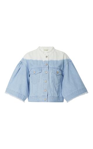 Medium ulla johnson multi kloe ombre jean jacket